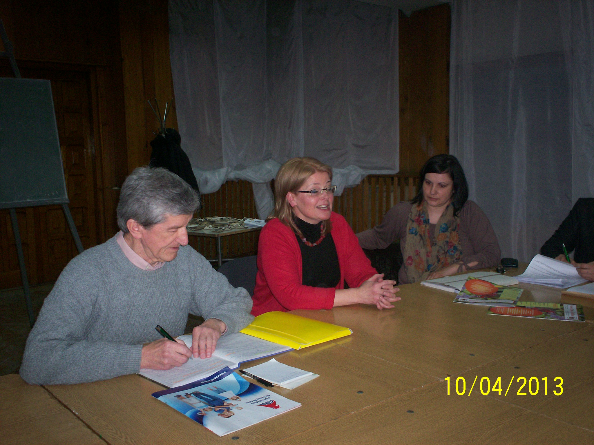 Wizyta p. Magdaleny Konczarek.