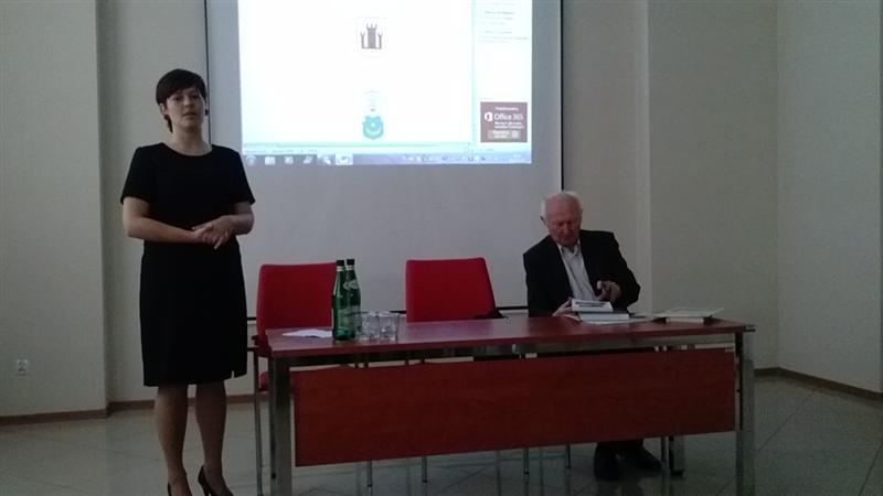 Spotkanie z A.Pruszakiem.