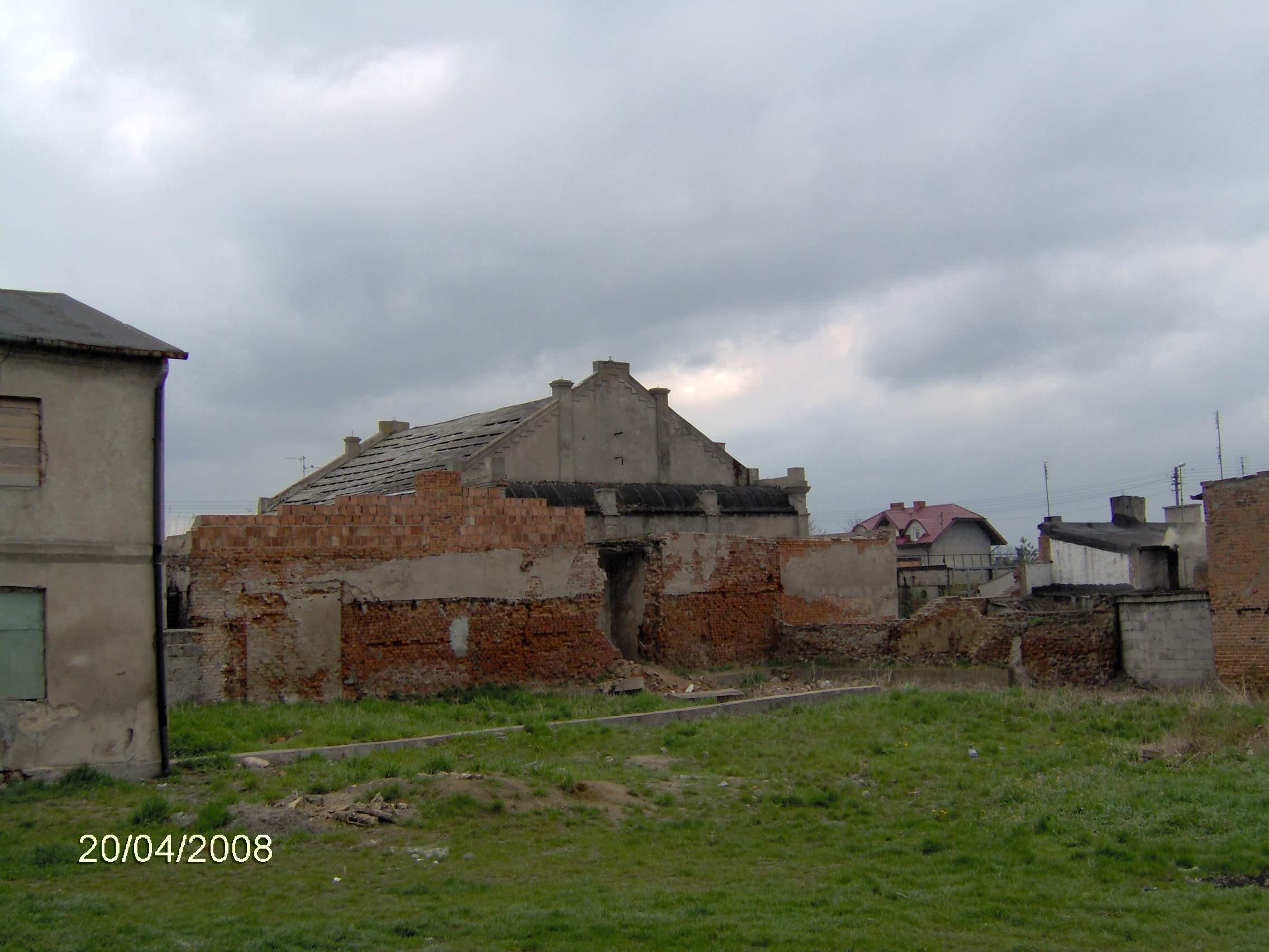 Synagoga od strony zachodniej, obecnie