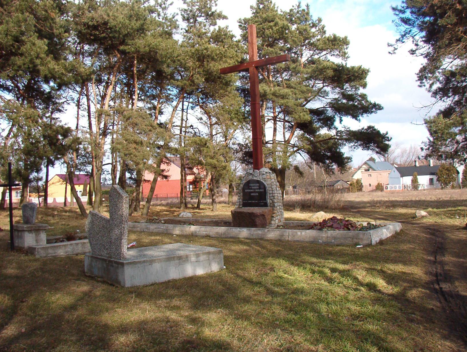 Cmentarz choleryczny.