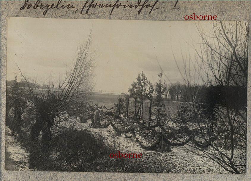 Dobrzelin cmentarz wojenny 1915 r.