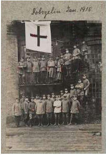 Dobrzelin-oficerowie-1915-r. 1
