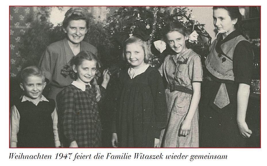1947 r. Rodzina razem.