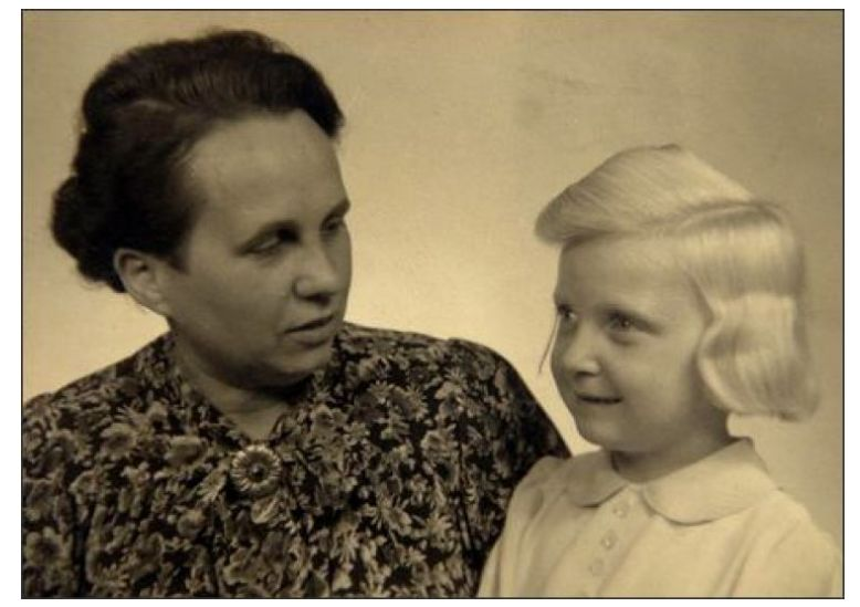 Alodia i jej niemiecka Mutti